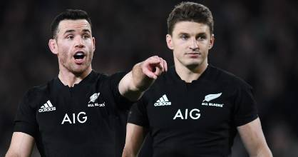 Ryan Crotty and Beauden Barrett will be desperate to ensure the Bledisloe Cup remains in New Zealand hands.