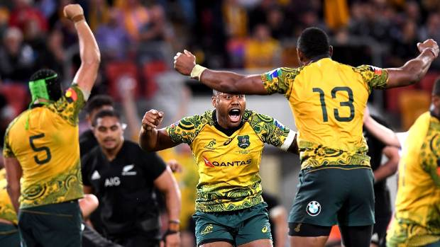 No mercy: All Blacks ready to move in for the Bledisloe kill