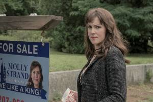 Melanie Lynskey is one of the stars in Castle Rock, which has scored another season.