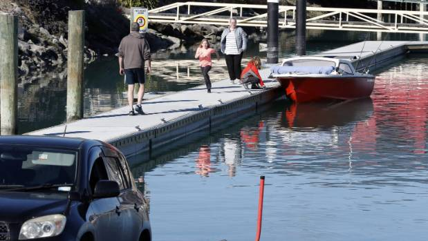 Safer boating expected with completion of new pontoon at Nelson boat ramp