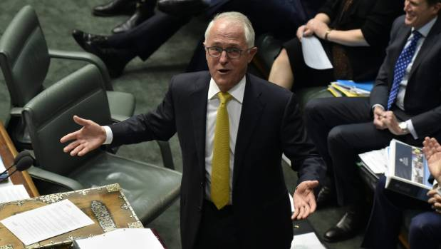 Prime Minister Malcolm Turnbull said senator Fraser Anning's speech was