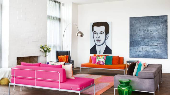 Great art can do more than complement a room - it can lift it.