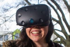 Gretta Rodriguez-Fleming, one of the founders of VREX, first discovered virtual reality gaming four months ago and ...