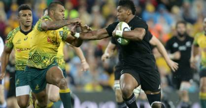 All Blacks wing Waisake Naholo deserves another crack at the Wallabies in Sydney on Saturday night.