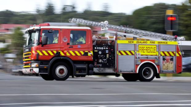 Firefighters compete on Thursday morning at Tilford St in Woolston, Christchurch. (File photo).