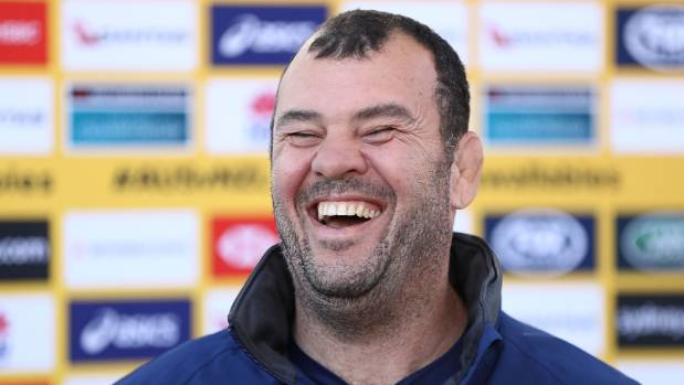 Will Wallabies coach Michael Cheika be laughing so hard after Saturday night's Bledisloe opener in Sydney?