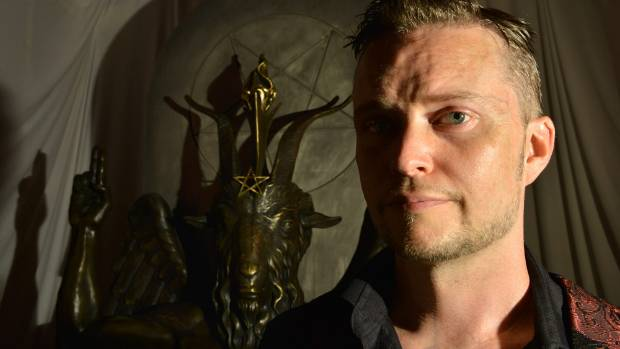 Satanic Temple statue unveiled at Arkansas State Capitol