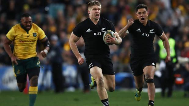 Second-half masterclass from All Blacks inflicts more Bledisloe woe on Wallabies