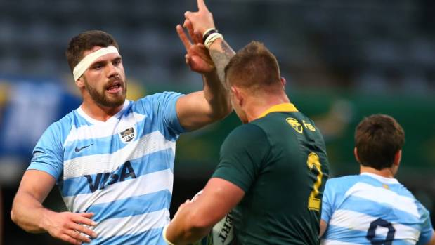 Springboks rely on 2nd-half surge to see off Argentina 34-21