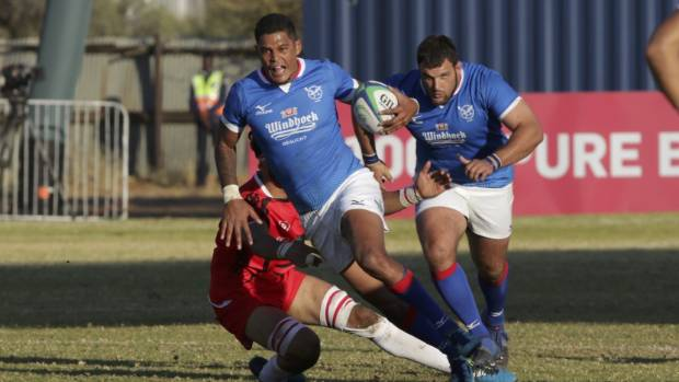 Botha double eases Namibia to sixth successive Rugby World Cup