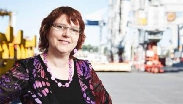 Diane Edwards from Ports of Auckland was brought in to change the culture in 2011.