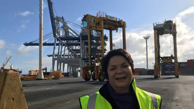 "When Angelene Powell joined Ports of Auckland 17 years ago she was told by some male co-workers: ""This is no place for a ..."