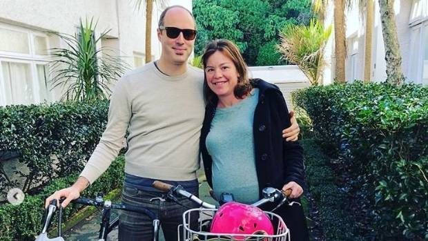 Julie Anne Genter and her partner Peter Nunns went on their bikes on Sunday for the Auckland City Hospital.