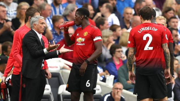 Sloppy Manchester United lose to Brighton
