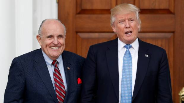 Giuliani: Trump Tower meeting not collusion because Clinton info was 'not pursued'