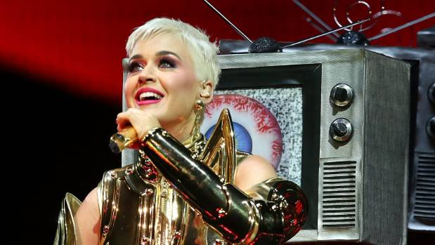 Katy Perry spotted at Auckland's Sylvia Park with entourage ahead of NZ shows