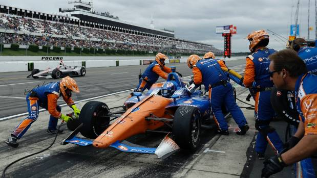Alexander Rossi IndyCar victory marred by violent wreck
