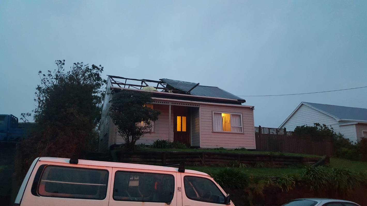 Tornados Damage Homes In Central New Plymouth And Ohope