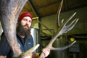 Brewer Paul Chambers says about 8 kilograms of deer velvet was added to the first batch.