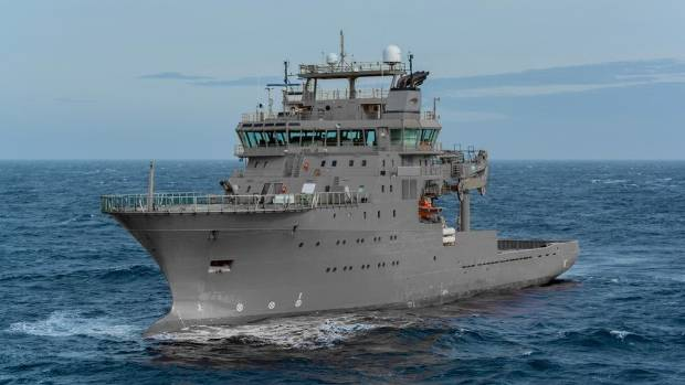 The MV Edda Fonn gets a new name when he is hired by the Navy.