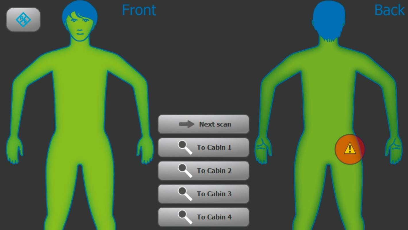 Fully body scanning not so bad; why not do it for
