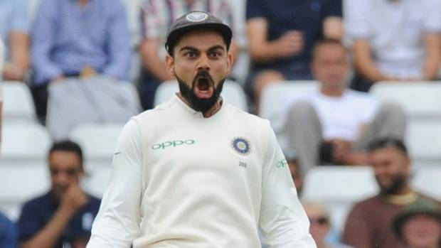 India captain Virat Kohli really enjoyed the second innings dismissal of Alastair Cook in the third test at Trent Bridge