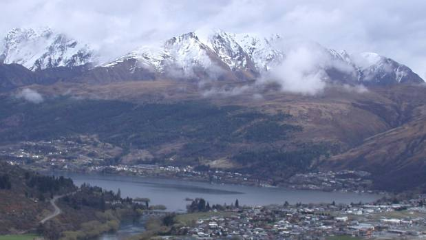 Queenstown and Frankton are in the shadow of the Ben Lomond series.