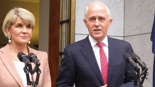 Australian foreign minister resigns as new prime minister announces 'peace-making cabinet'