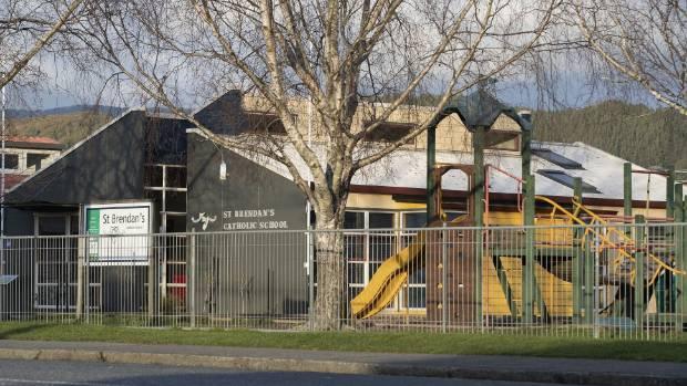 The prison grounds are 1.5 kilometers from Hutt International Boys & # 39; School, 1.8 kilometers from St Brendan's School (photo) ...