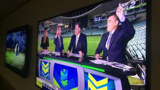 The rugby union and last night's competition were shown on Sky TV - and they want it to stay that way.