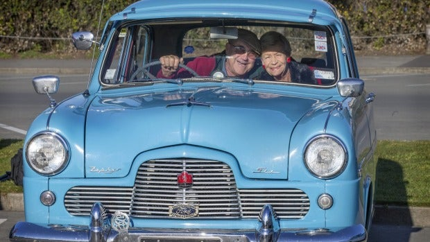 About 130 cars - vintage and modern - attended the Daffodil Rally for Cancer, organized by the South Canterbury ...