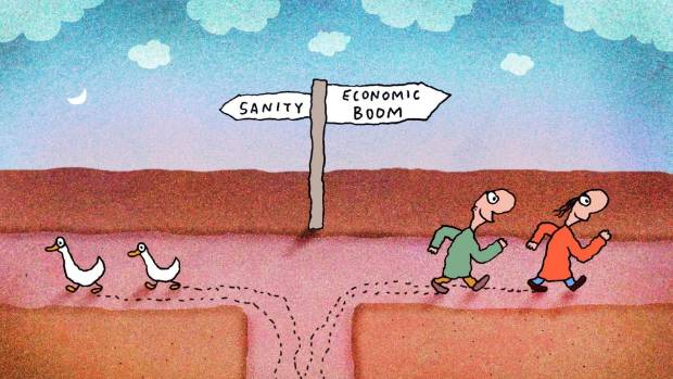 """""""What are our deepest desires and motivations,"""" asks Leunig"""