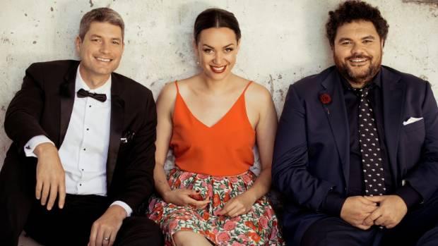 Jesse Mulligan, Kanoa Lloyd and Josh Thomson: the original lineup of The Project.