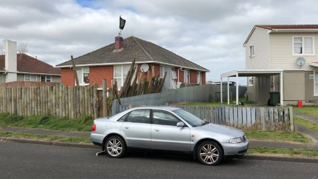 The police terminated Matipo St in Whanganui on Monday because houses were searched as part of a murder investigation.