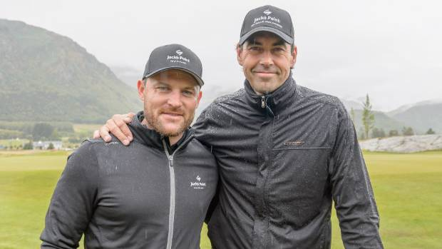 Former New Zealand cricket captains Brendon McCullum, left, and Stephen Fleming will team up for Team Cricket at the T20 ...