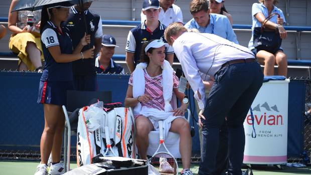 US Open admit wrong to warn Cornet over shirt change