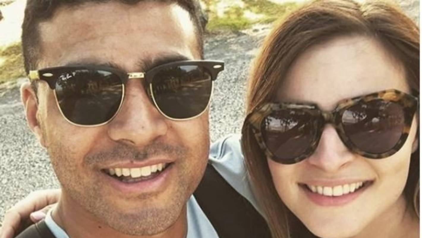 All Black Richie Mo'unga and Sophie Vieceli tie the knot in Christchurch