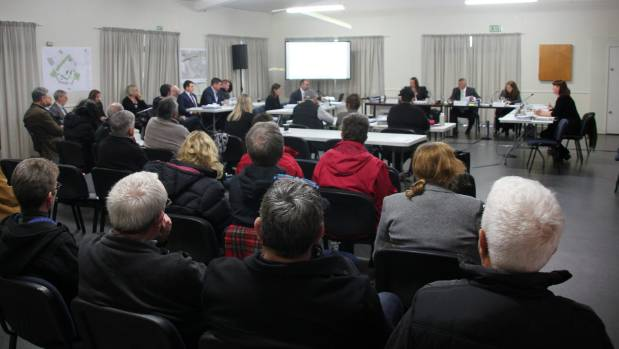 The resource consent hearing for the Te Arahori St subdivision in Turangi.