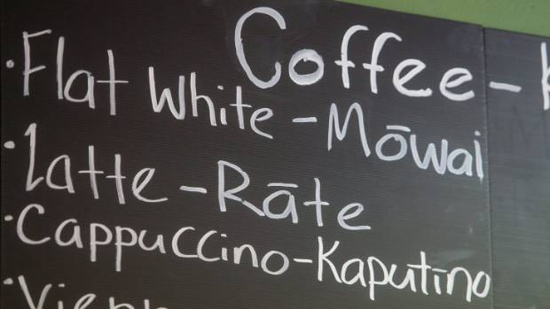 Verbs and verb phrases in te reo mori stuff maz williams has opened a cafe in urenui with some items on the menu in m4hsunfo