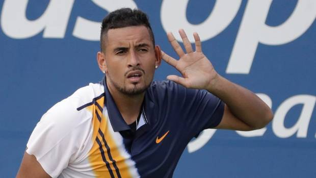 Umpire who gave Nick Kyrgios pep talk suspended