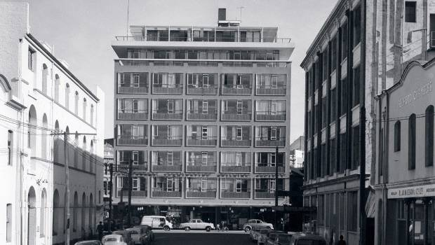 159 Manchester Street in 1963 viewed from Bedford Row.
