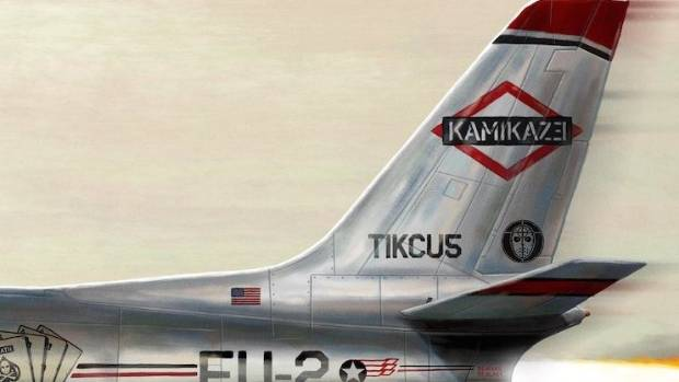 The cover art from Kamikaze