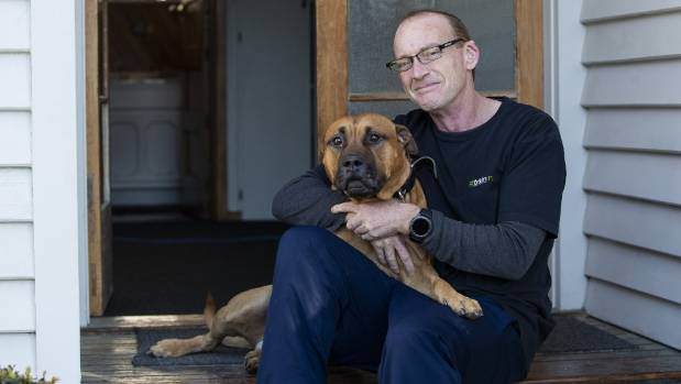 Malcolm Campbell, photo with his dog Hoofus, does not have his own children, but he has devoted most of his life to ...