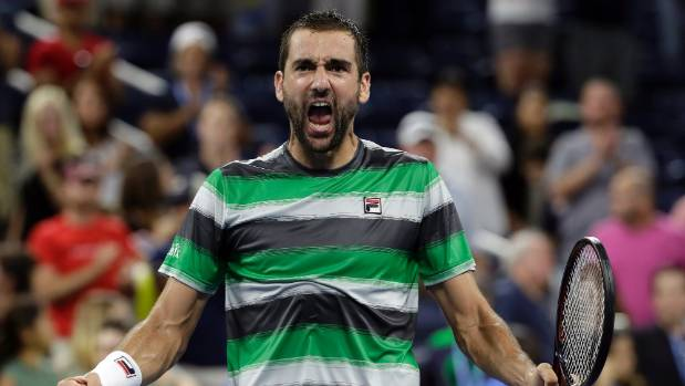 US Open 2018: Marin Čilić Fights Back to Reach Last 16