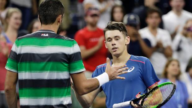 Alex de Minaur shows wonderful fight in epic US Open five-setter