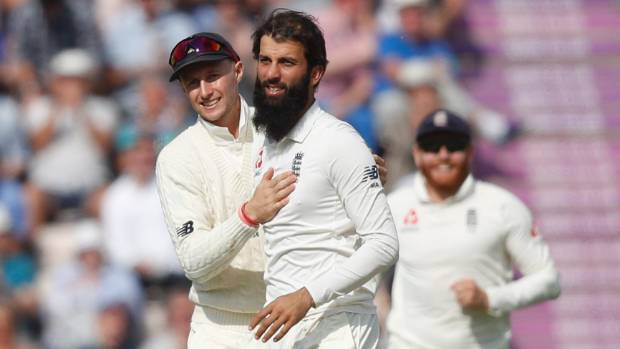 England's Moeen Ali said he'd never been so angry as a cricketer.