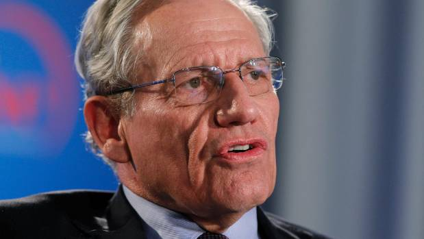 Woodward defends using unnamed sources in White House book