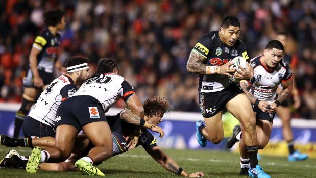 Moses Leota has played 18 matches for the Panthers in 20-18 and will come off the bench against the Warriors.