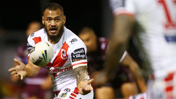 Dragons forward Leeson Ah Mau has had one of his best seasons and will return to the Warriors next year.