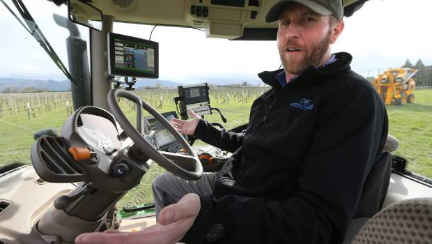 Automated tractors a 'game changer' for wine industry